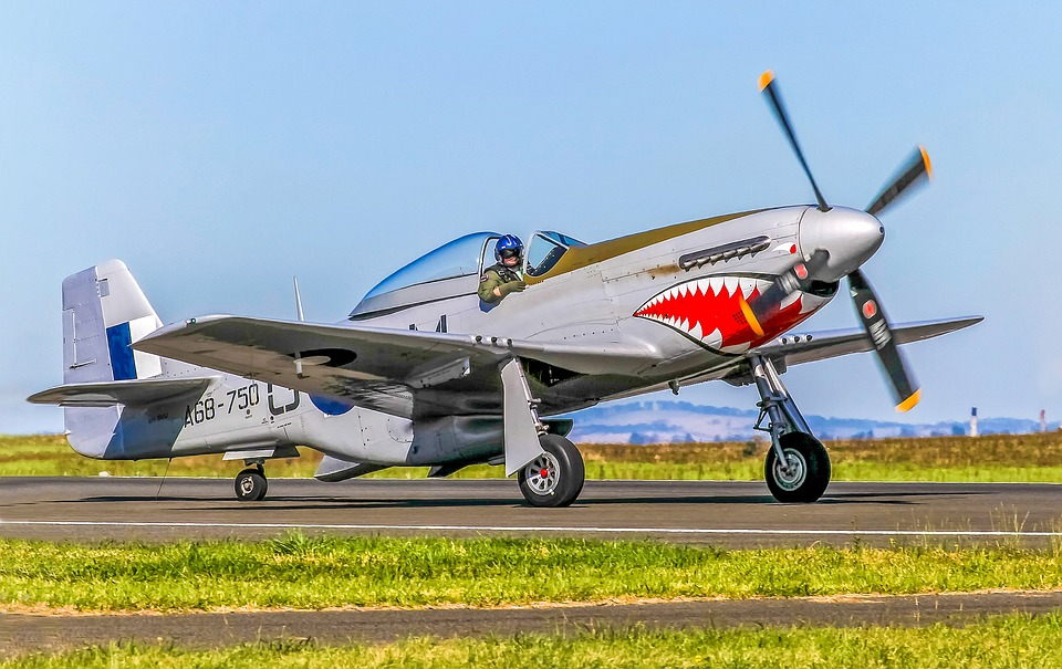 P-51, Mustang, Fighter, Wwii, Aviation