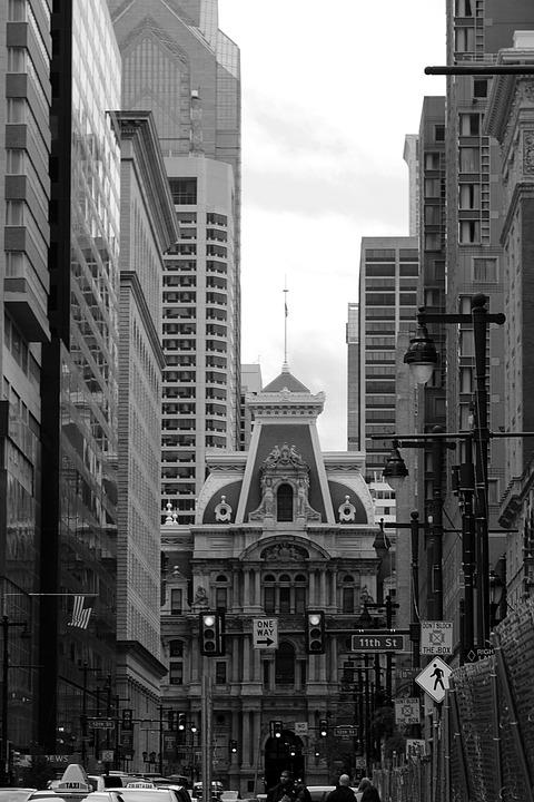 Philly, Pa, Building, City, Urban, Pennsylvania, Travel