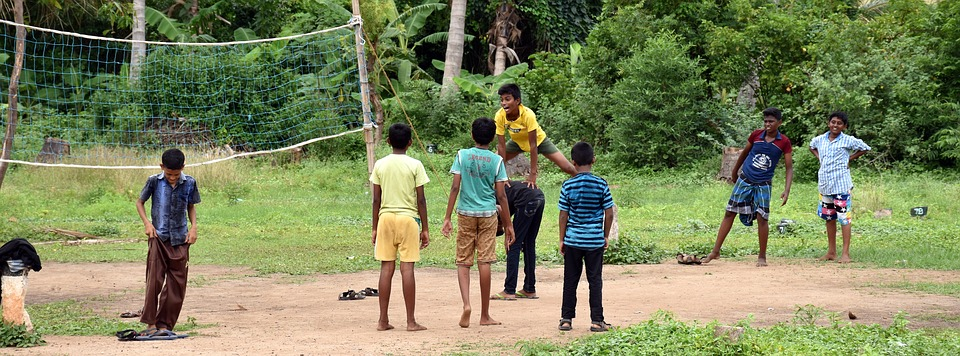 Rural, Village, Game, Pachakudirai, Country, Kids