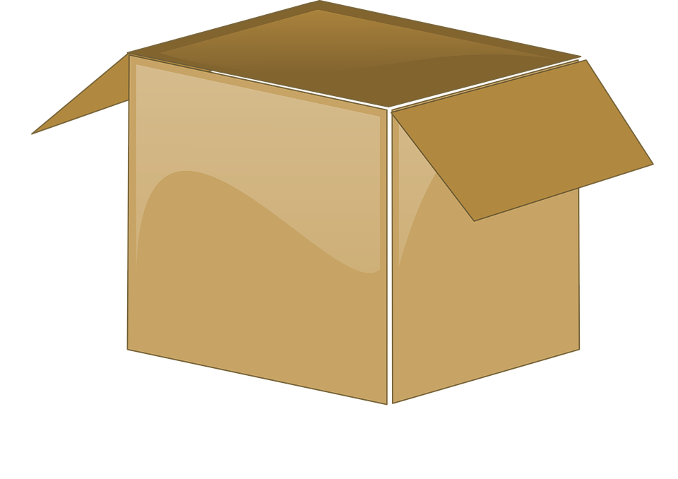 Cardboard Box, Open, Package, Brown, Box, Cardboard