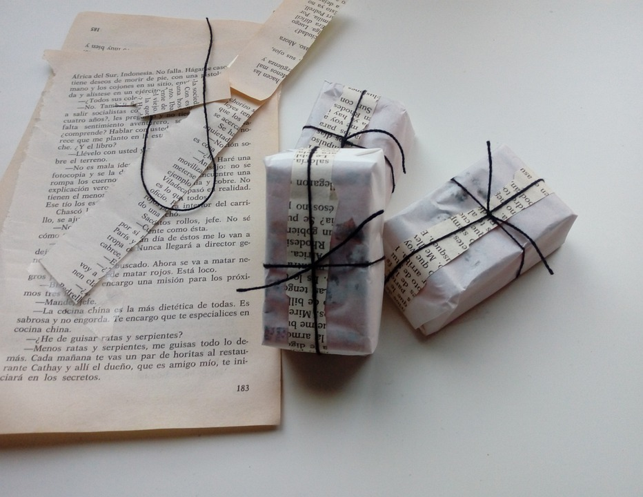 Package, Page, Packing, Gift, Vintage