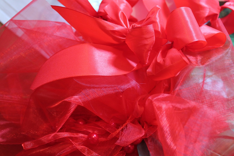 Band, Red, Gift, Packaging, Loop, Gift Tape