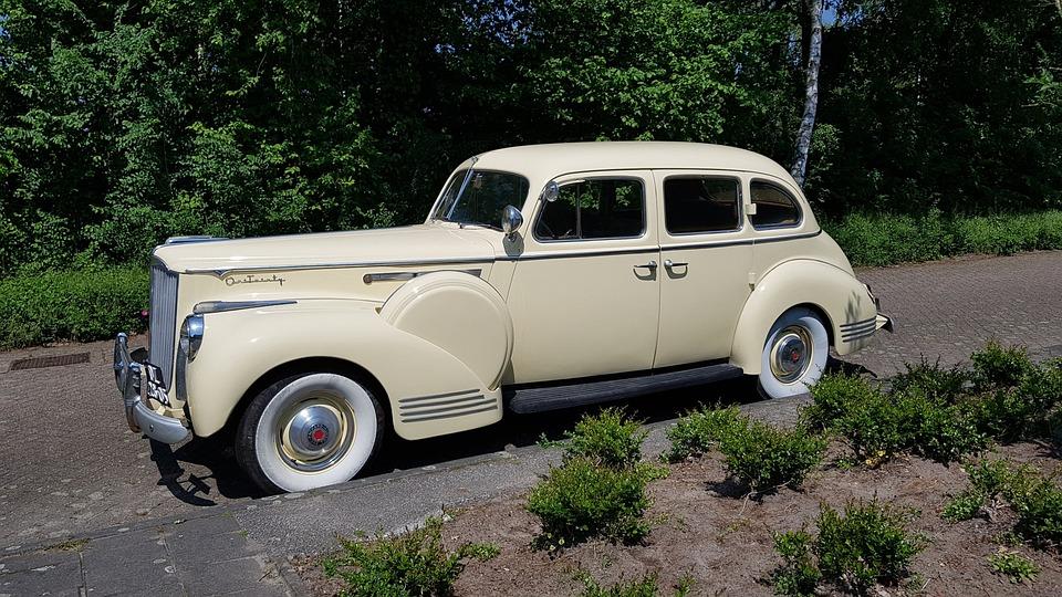 Packard, Oldtimer, Car, Retro, Automotive, Classic Car