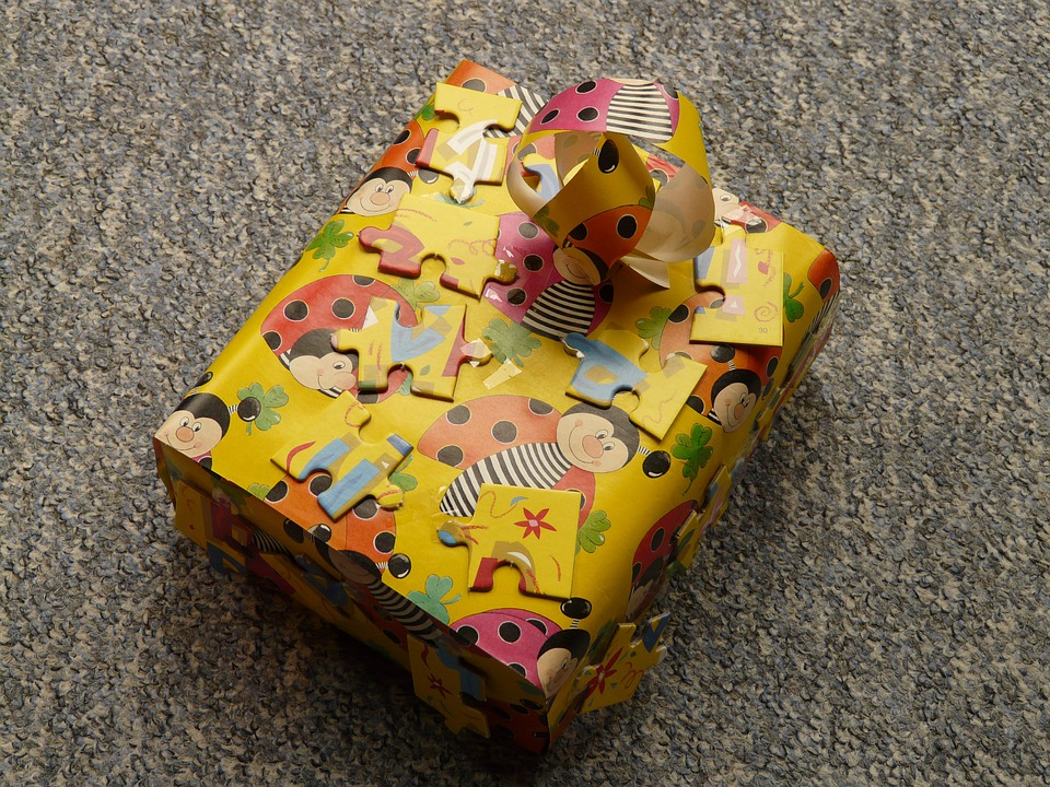 Gift, Colorful, Pack, Packed, Birthday, Give Away