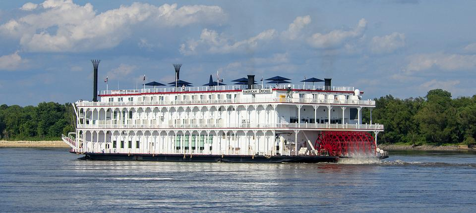 River Boat, Paddle-wheel, Riverboat, Steamer, Paddle