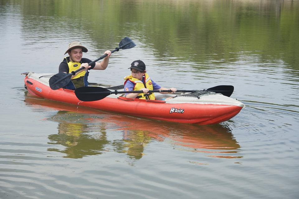 Paddlers, Kayaking, Paddles, Canoeing, Water, Sport