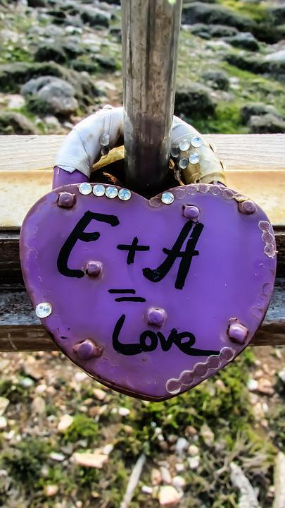 Love, Padlock, Lover's Bridge, Ayia Napa, Heart