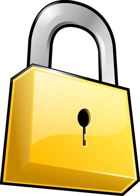 Security, Lock, Padlock, Locked