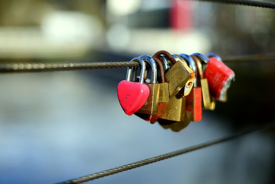 Love Locks, Metal, Love, Love Symbol, Padlock, Padlocks