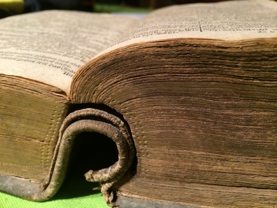 Book, Bible, Old, Pages