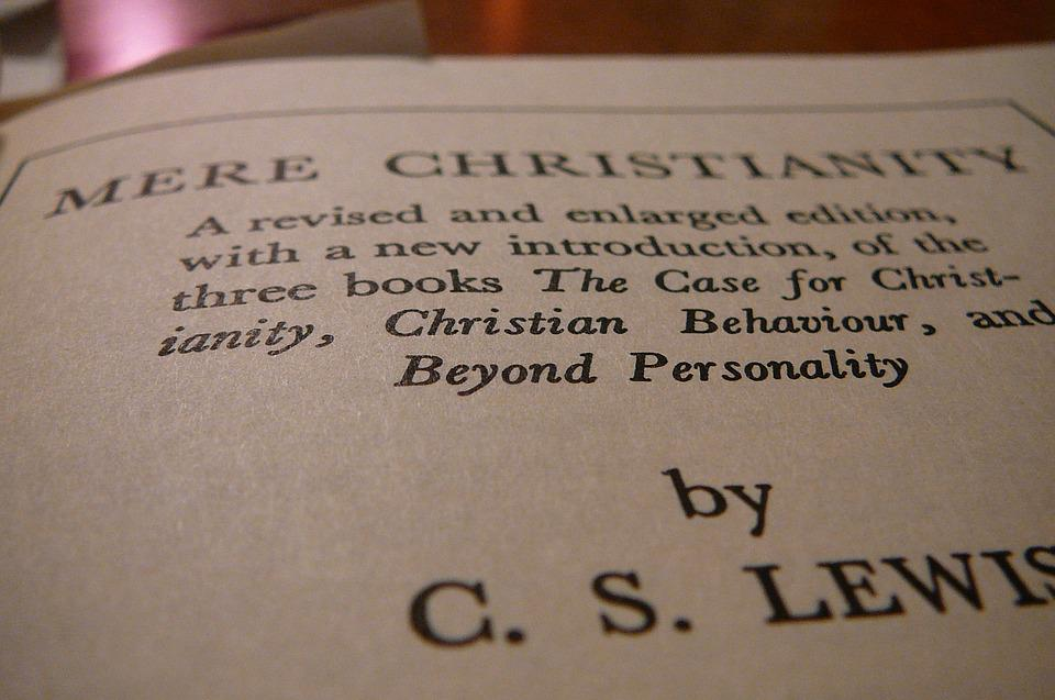 Mere Christianity, Cs Lewis, Author, Book, Pages, Print