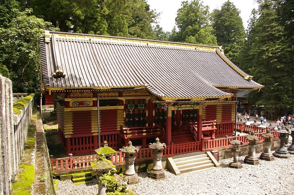 Toshogu Shrine, Pagoda, Japan, Shrine, Toshogu