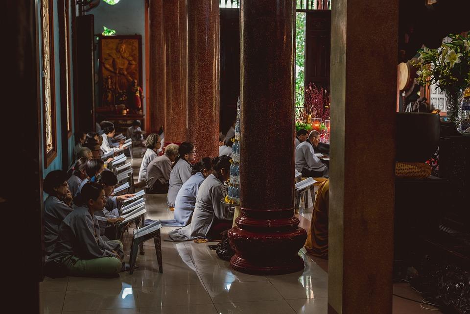 Buddhist, Temple, Pagoda, Prayer, Monk, Wat, Book