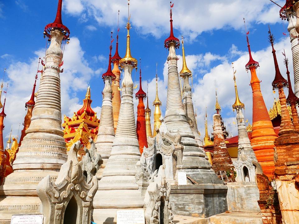Pagoda, Temple, Buildings, Architecture, Landmark