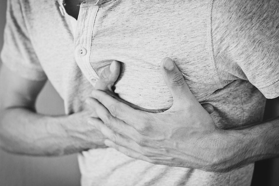 Man, Heartache, Chest Pain, Hurt, Pain, Heart Attack