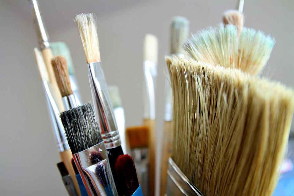 Brush Brushes Paint Artistic Artist