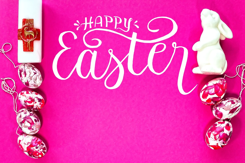 Easter, Candle, Hare, Egg, Colorful, Easter Eggs, Paint