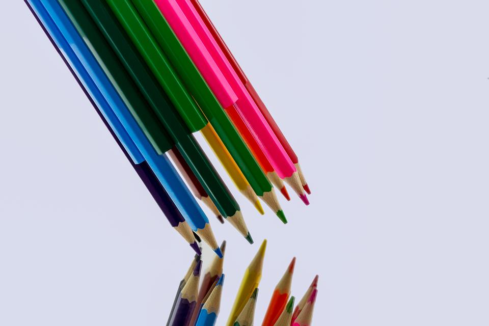 Colored Pencil, Multi Coloured, Paint, Creativity