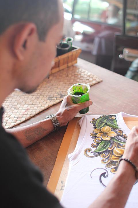 Painting, Drawing, Bali, Colorful, Paint, Creativity