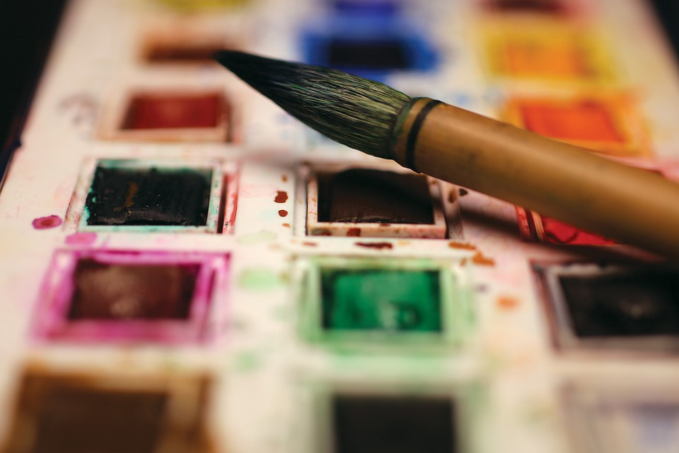 Paint, Watercolours, Watercolor, Colorful, Painting