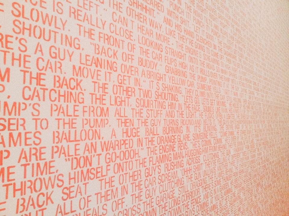Text, Typography, Art, Paint, Quotation, Lyrics, Author