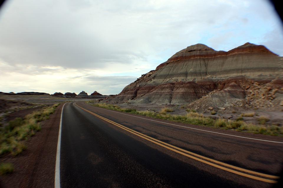 Painted Desert, Landscape, Mountain, Arizona, Nature