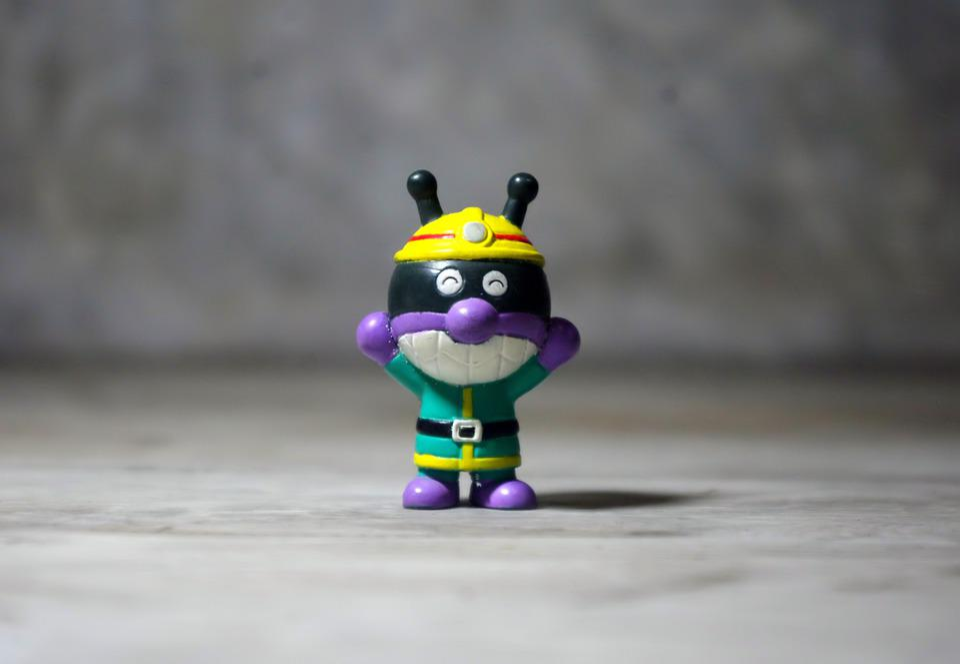 Sports Hero Fella, Small, Toy, Figurine, Painted
