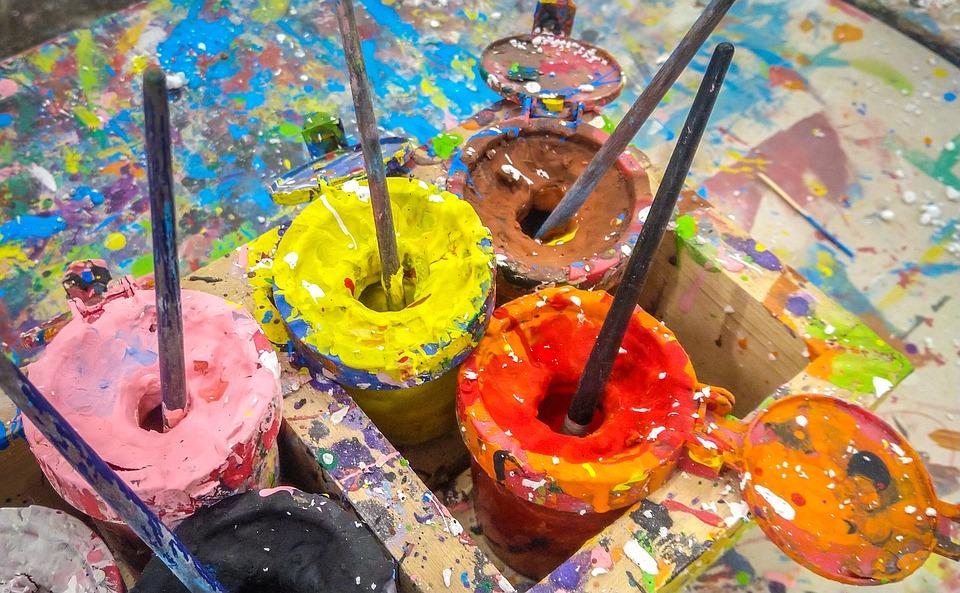 Paint, Bucket, Creative, Brush, Painter, Color