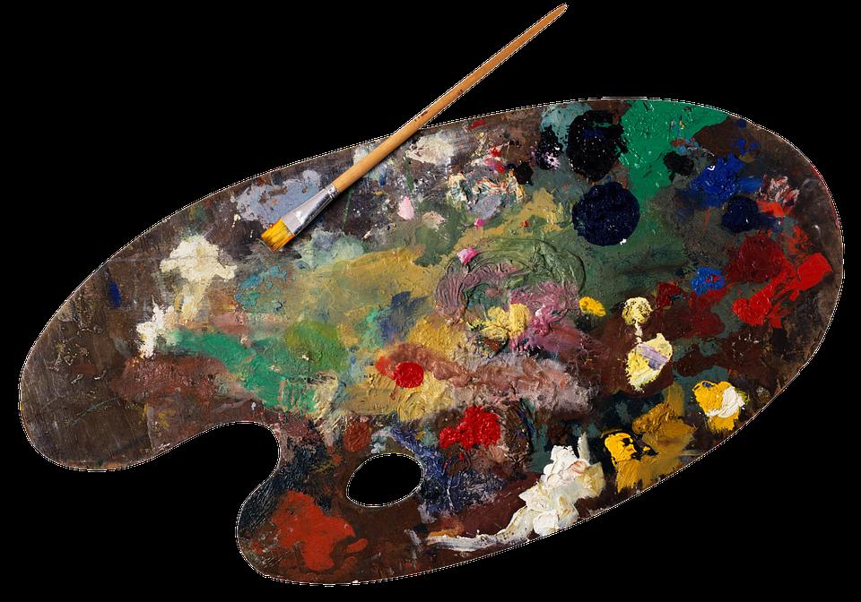 Palette, Paint, Oil, Painting, Painter, Art, Brush