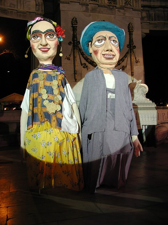 Festival, Art, Artists, Frida, Diego, Painting, Mexico