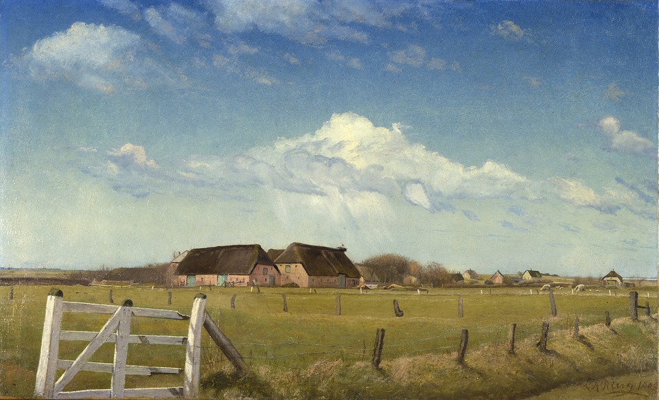 Laurits Ring, Painting, Art, Artistic, Artistry