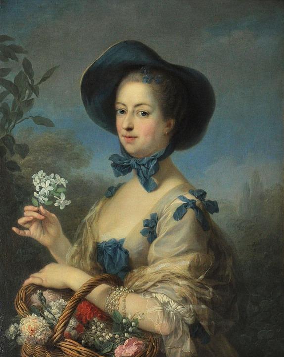 Charles Van Loo, Portrait, Painting, Oil On Canvas, Art