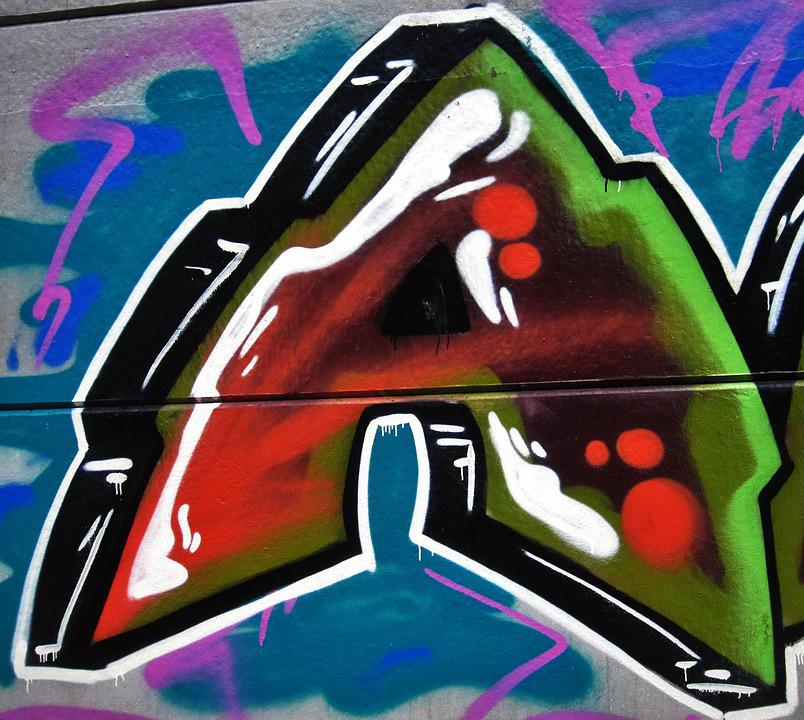 Graffiti, Letter A, Painting, Cheesy, Creative