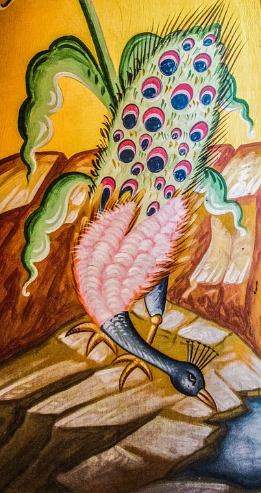 Peacock, Iconography, Painting, Church, Orthodox