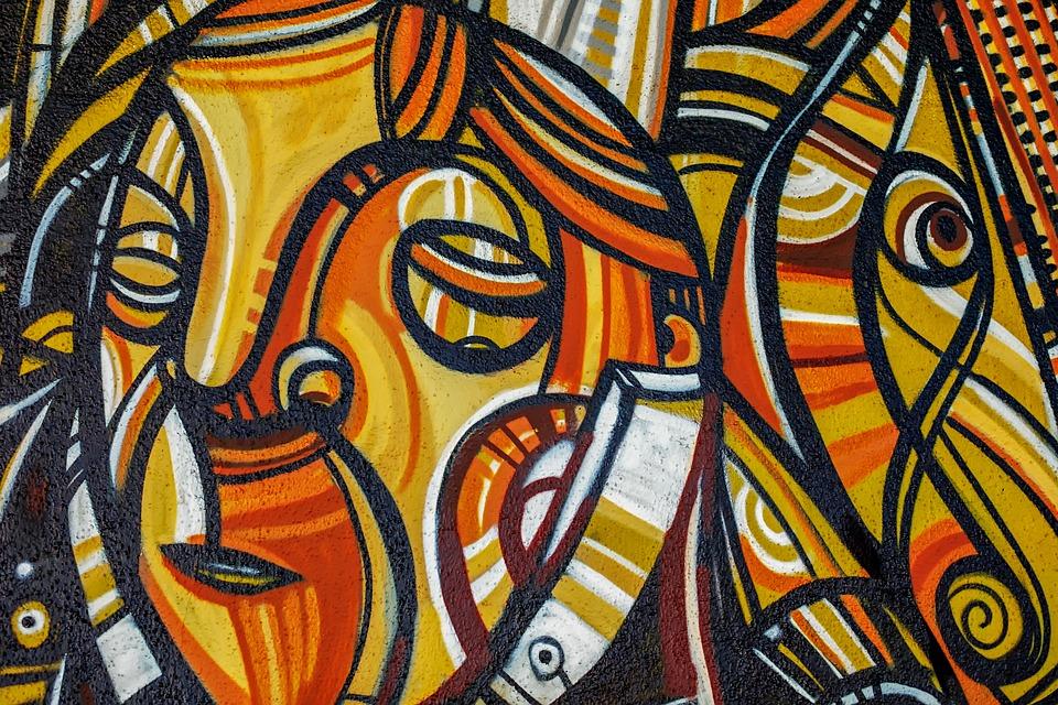 Graffiti, Art, Painting, Color, Woman, Beautiful, Face