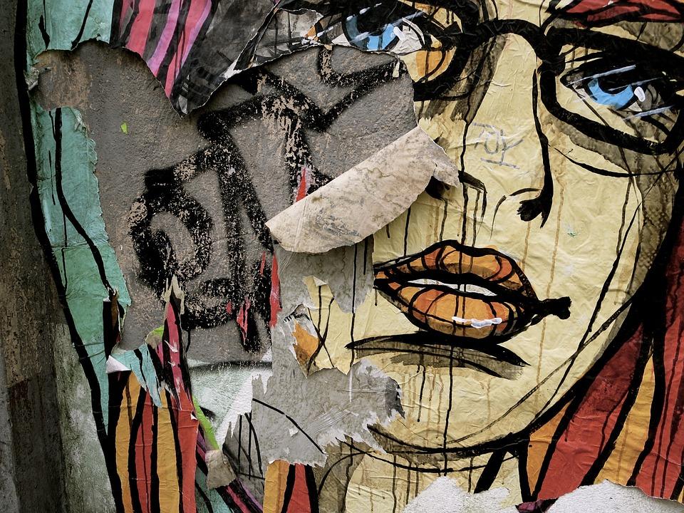 Art, Painting, Graffiti, Wall, Image, Mural, Cologne