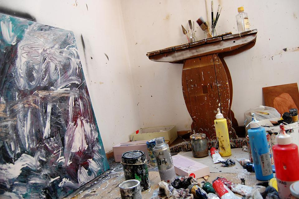 Lab, Picture, Painting, Brushes, Paint, Artist, Artists