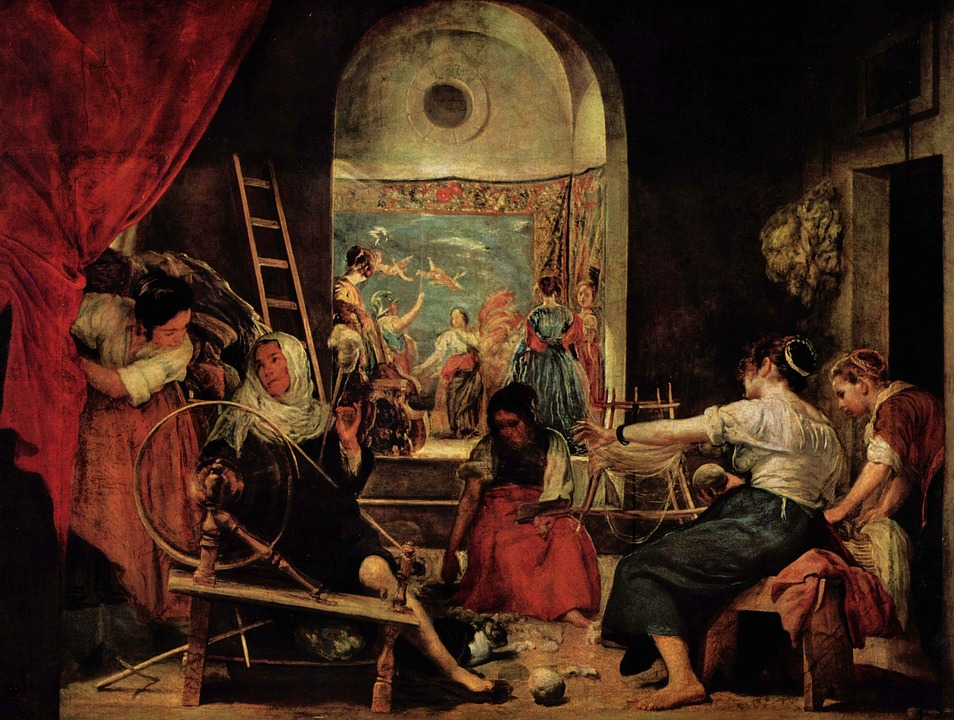Painting, Classic, Middle Age