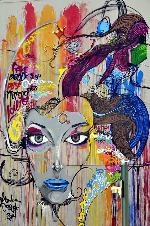 Graffiti, Mural, Street Art, Painting, Art, Cyprus