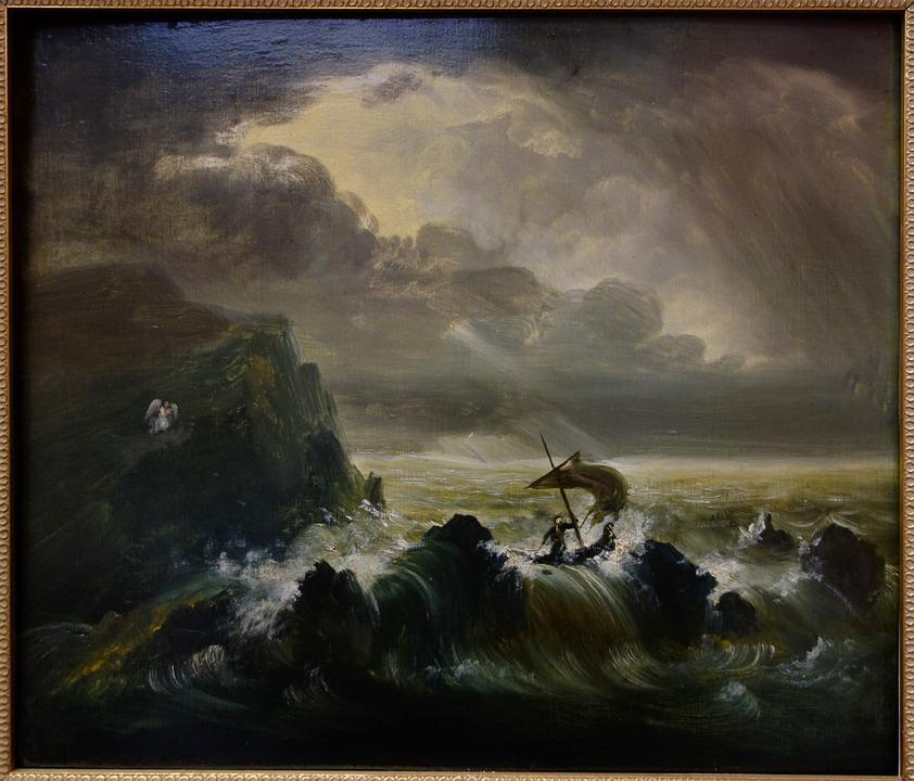 The Voyage Of Life, Thomas Cole, Painting, Museum, Oil
