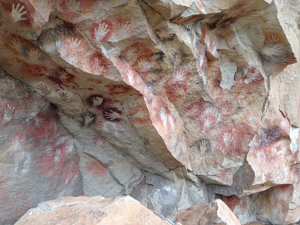Cave, Painting, Patagonia, Argentina