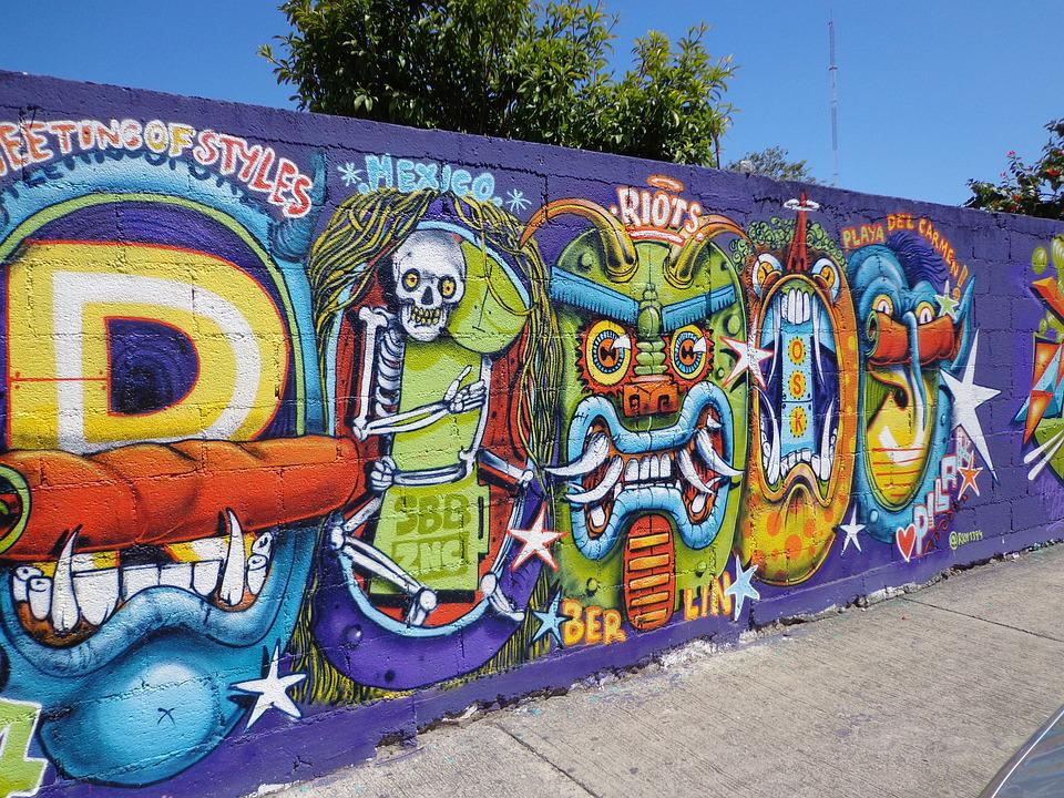 Graffiti, Wall, Color, Street-art, Painting, Street