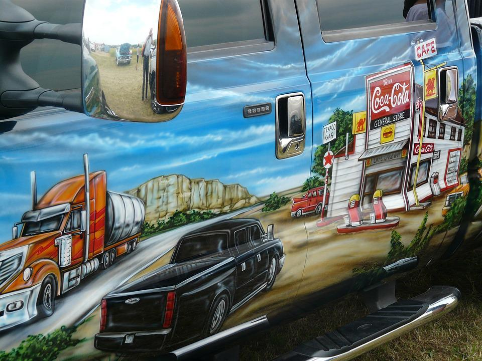 Auto, Paintwork, Design-painting, Image