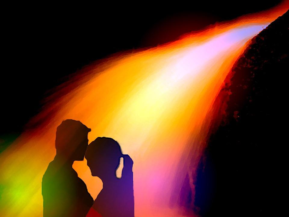 Pair, Love, Feeling, Tenderness, Romance, Kiss