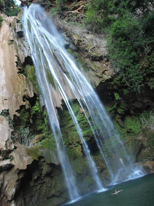 Waterfall, Paiseje, Morocco