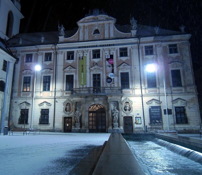 Czech Republic, Palace, Building, Architecture