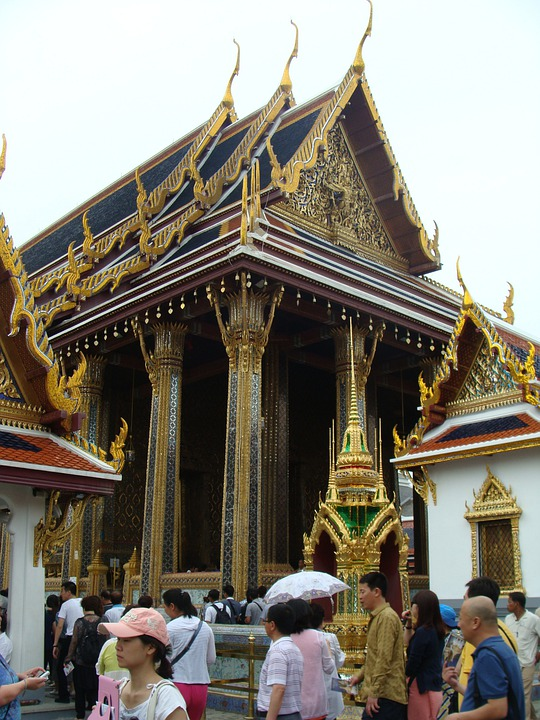 Grand Palace, Bangkok, Thailand, Palace, Architecture