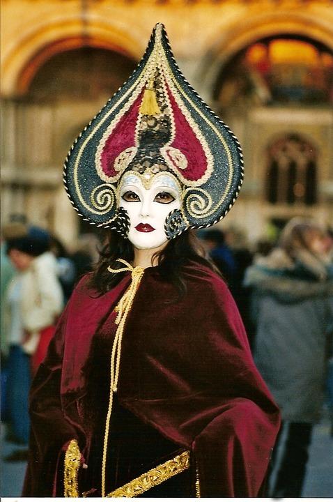Mask, Face, Clothing, Carnival, Palace, Decoration, Art
