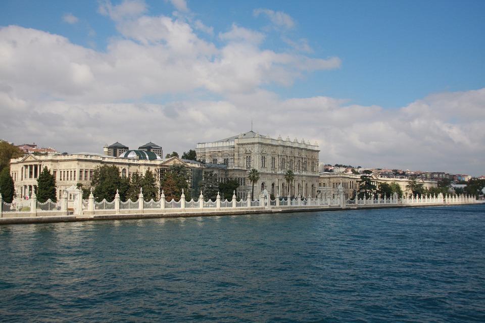 Dolma Bache, Palace, Dolmabahçe Palace, Turkey