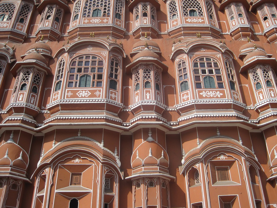 Hawa Mahal, Palace, Palace Of Winds, Architecture, Hawa